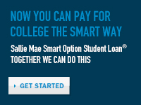 Now You Can Pay For College The Smart Way - Sallie Mae Smart Option Student Loan - TOGETHER WE CAN DO THIS