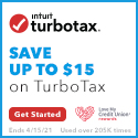 TURBO tAX SAVE UP TO $15 ON TURBOTAX